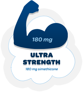 Ultra Strength 180 mg simethicone